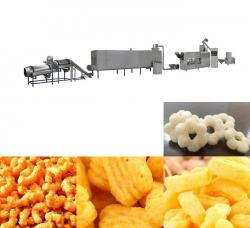 膨化调味食品生产线