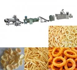 油炸立体食品生产线